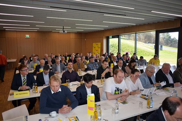 Bezirksparteitag des FDP-BV Aachen am 25. März auf Burg Vogelsang