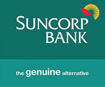 Suncorp Bank sponsor logo