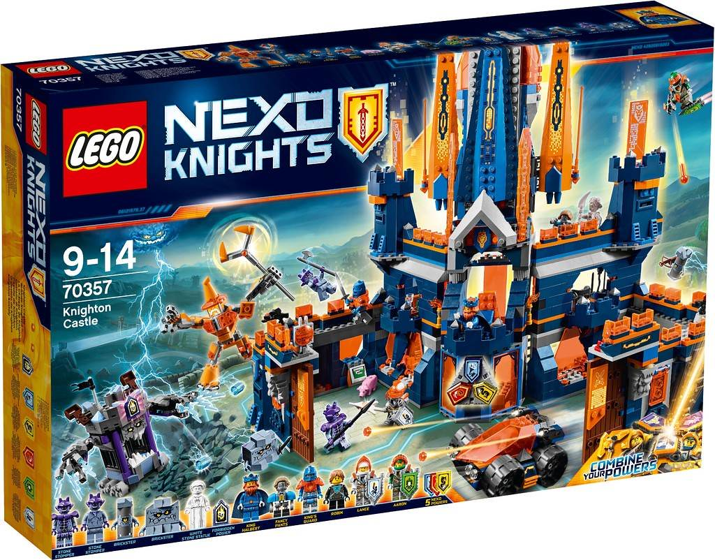 LEGO Nexo Knights 70357 - Knighton Castle