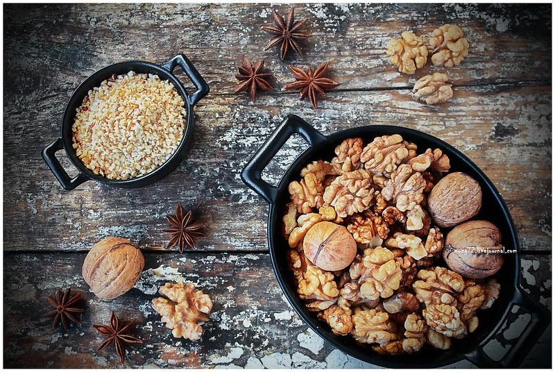 ...still life of walnuts