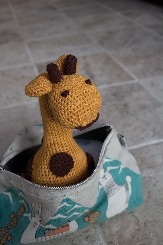 April the Amigurumi Giraffe