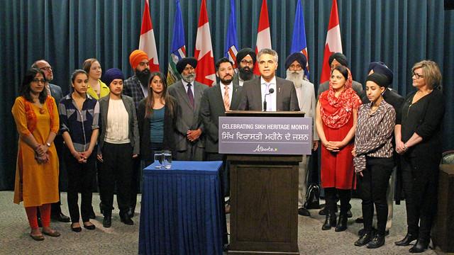 Alberta declares April 2017 Sikh Heritage Month