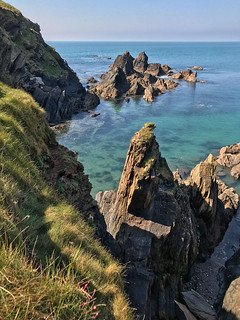 Rocks & turquoise sea | by Sean Paull