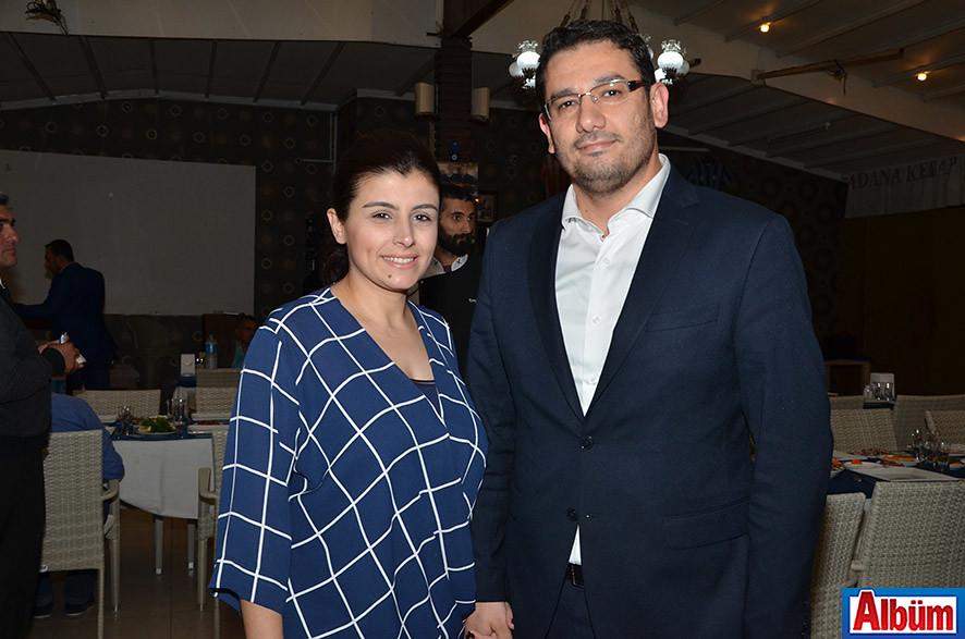 Alanya Baro Temsilcisi Avukat İbrahim Ertuş ve eşi Aslı İşcan Ertuş
