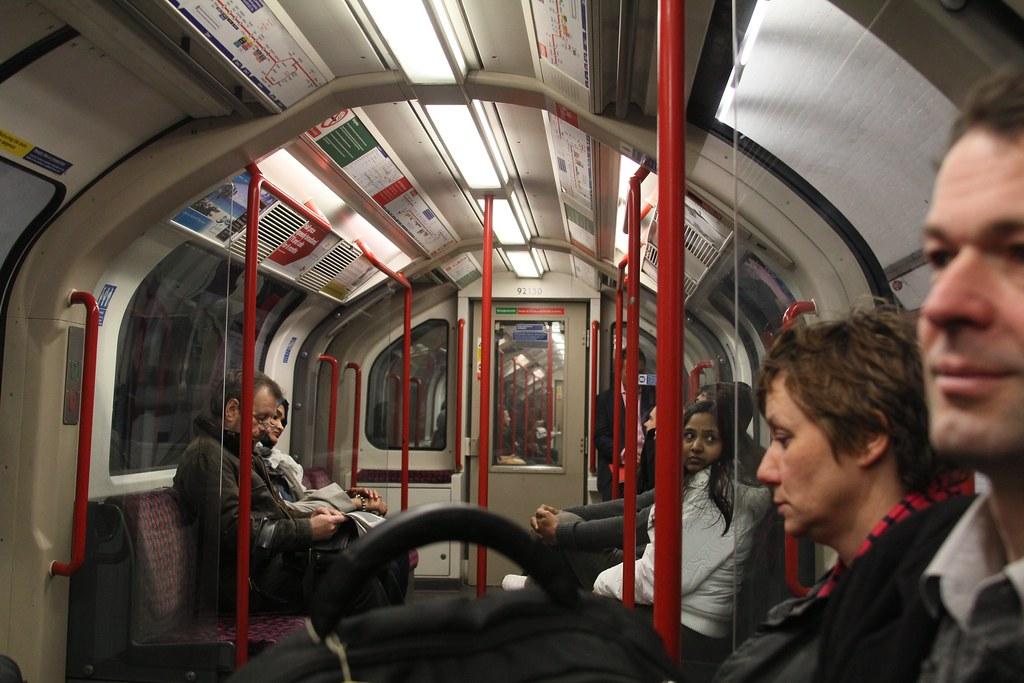 倫敦地鐵。Leif Harboe(CC BY-NC-ND 2.0)