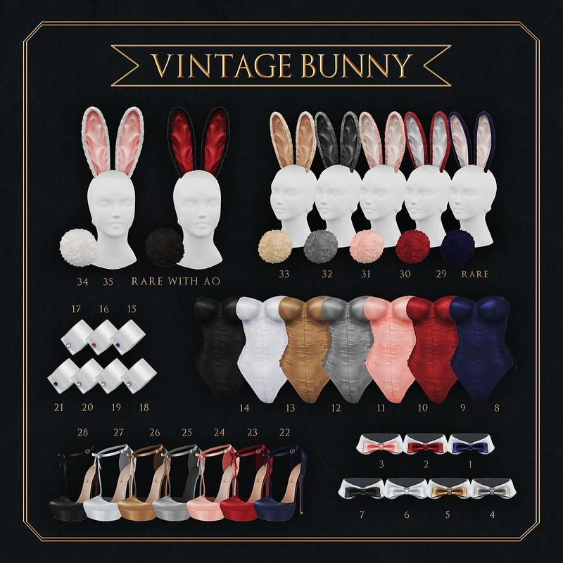 Sallie Language // Vintage Bunny Gacha @ Epiphany