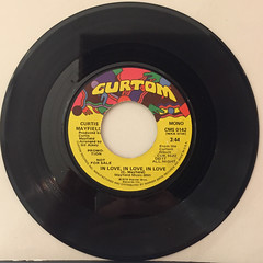 CURTIS MAYFIELD:IN LOVE, IN LOVE, IN LOVE(RECORD SIDE-B)