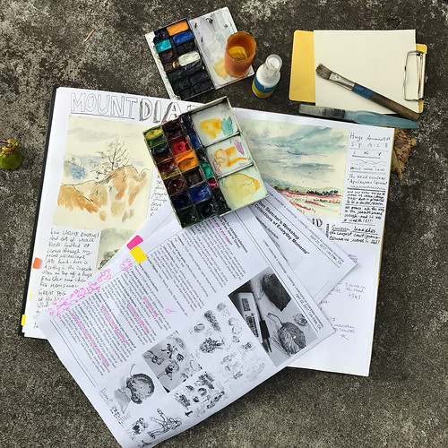 "My Urban Sketcher's Workshop ""Creating Collections of Everyday Moments"""