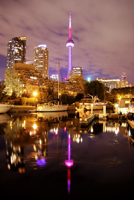 CN Tower from Harbourfront 3