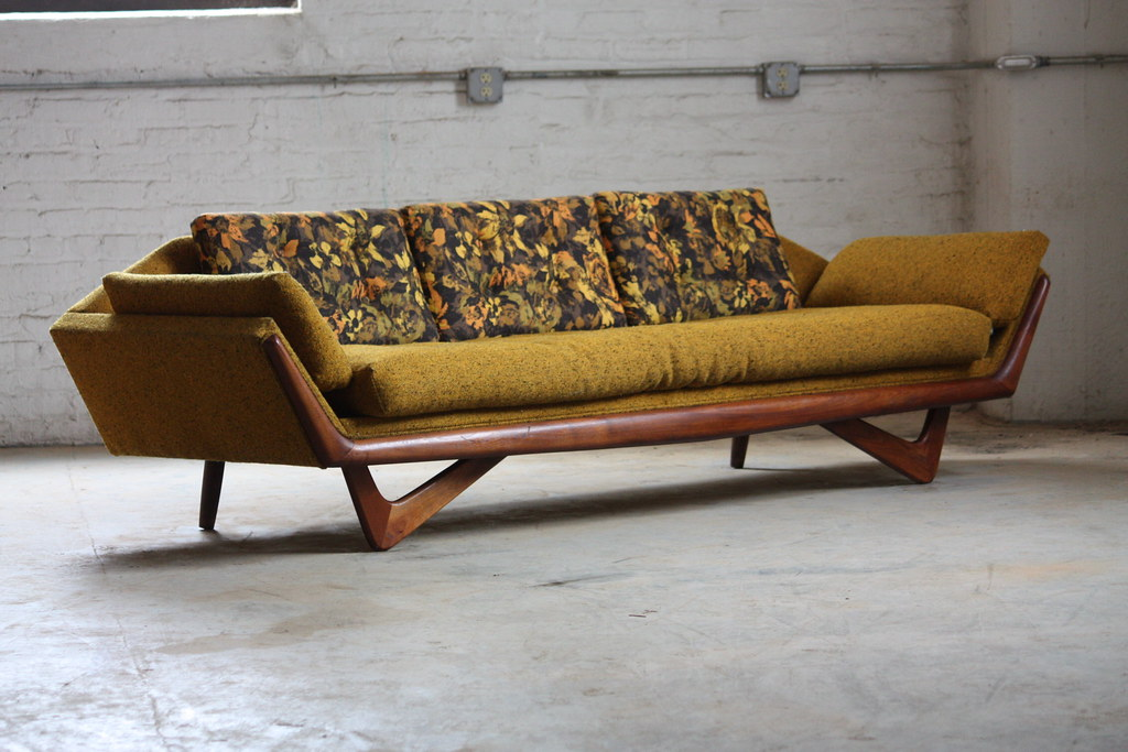 ... Undeniable Adrian Pearsall Mid Century Modern Sofa And Lounge Chair For  Craft Associates (U.S.A.,