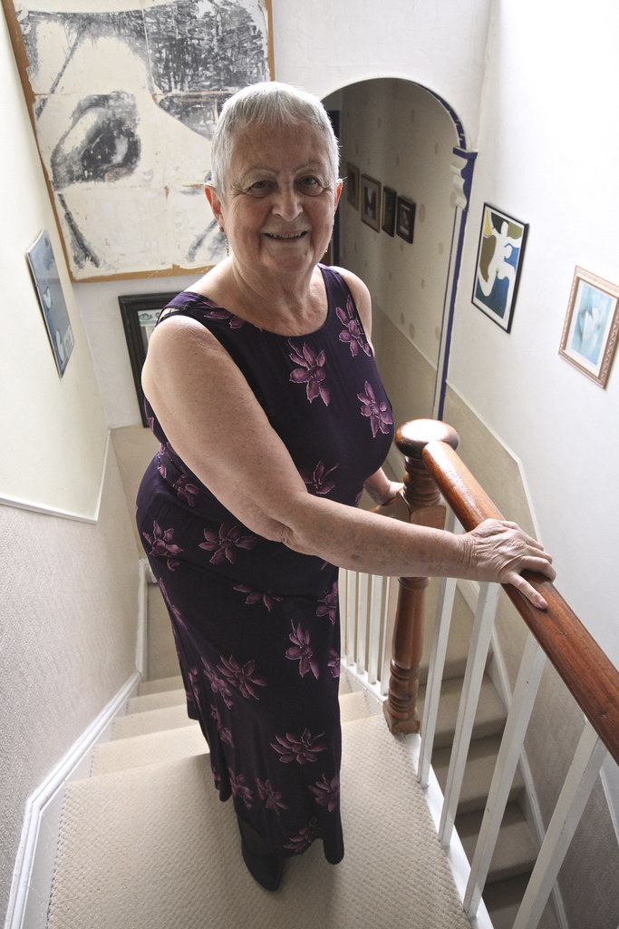 Frocks on the stairs 32.   John D Durrant   Flickr