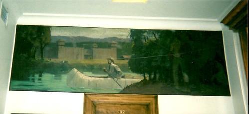 Colville Washington Post Office Mural | New Deal mural ...
