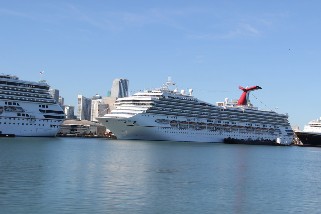 Carnival Glory Cruise Ship In Port Miami Florida  For More   Flickr