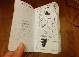 found a mini pad from summer 2009. this is dated july 24th, a friday. | by meligrosa