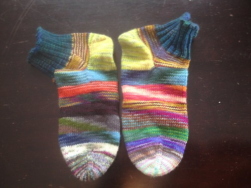 Emergency Sock Skein Scrap Socks | by bySarah