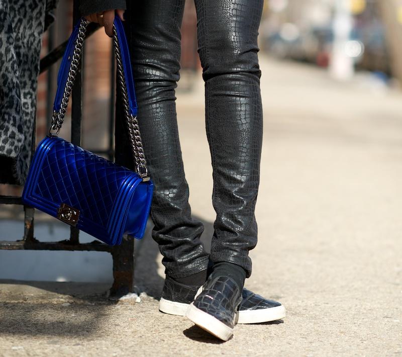 Chanel Boy Bag Snakeskin Chanel Spring 2014 Boy Bags
