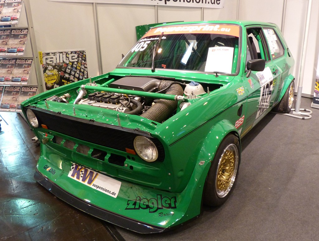 Vw Polo 1 1980 1 8l 16v Oettinger Green Vl Stkone Flickr