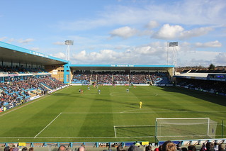 Priestfield: a view from the away end | by EEPaul