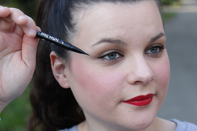 Test : Tattoo liner KAT VON D (eyeliner waterproof)