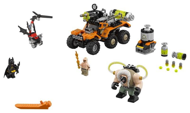 LEGO Batman Movie Bane Toxic Truck Attack (70914)