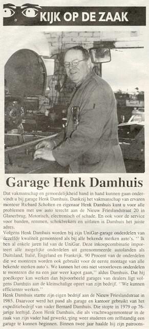 1999-06-15 Garage Henk Damhuis