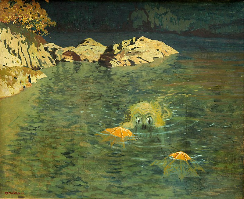 Jaroslav Panuska - Water Sprite In The Bay
