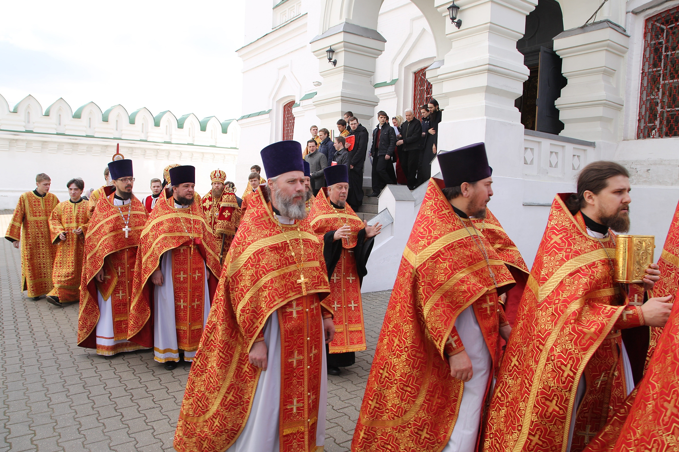 Во вторник Светлой седмицы управляющий викариатством посетил Николо-Перервинский монастырь