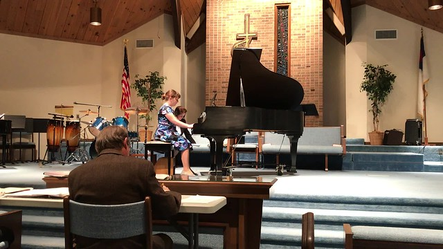 Lucy plays Allegretto I at the 2017 Ribbon Festival
