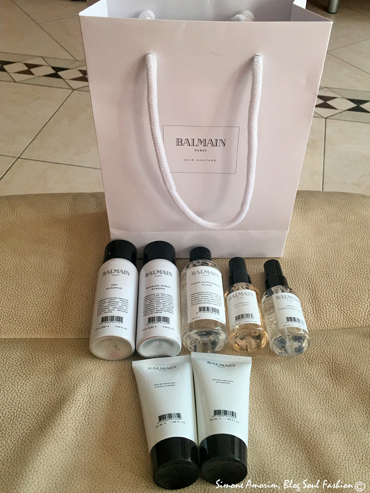 O meus produtos da marca em versão travel size. Amoooo. My Bamain Paris hair dress products travel size. Love them.