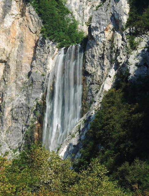 Boka waterfall, Triglav, Slovenia