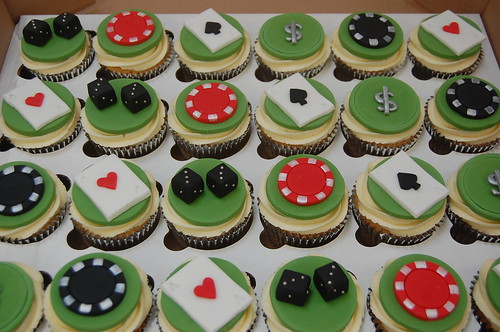 Gambling Las Vegas Cupcakes Beautiful Birthday Cakes