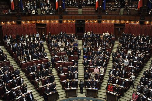 L europa a roma celebrazioni del parlamento italiano for Roma parlamento