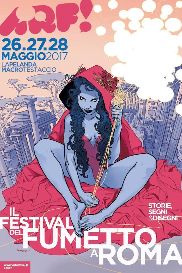 Arfumetto 2017 - il Poster di Sara Pichelli