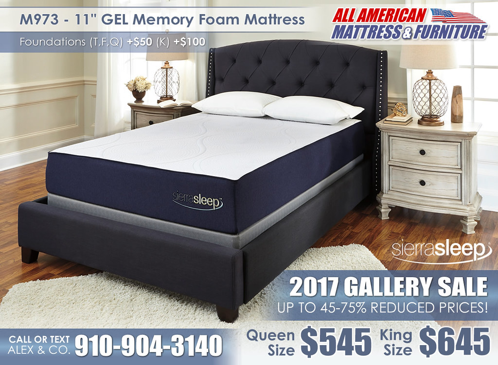 M973 11in GEL Memory Sierra Sleep 2017 Special