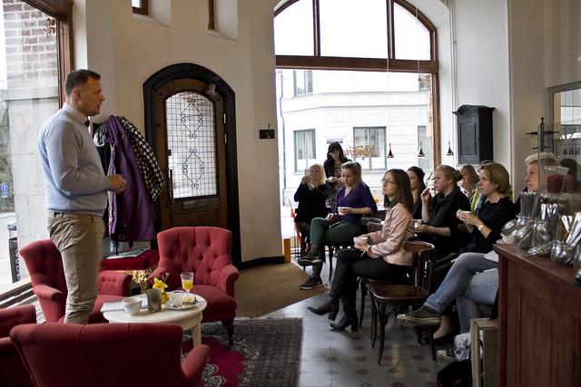 Affärskvinnor i Lund hade ett frukostevent