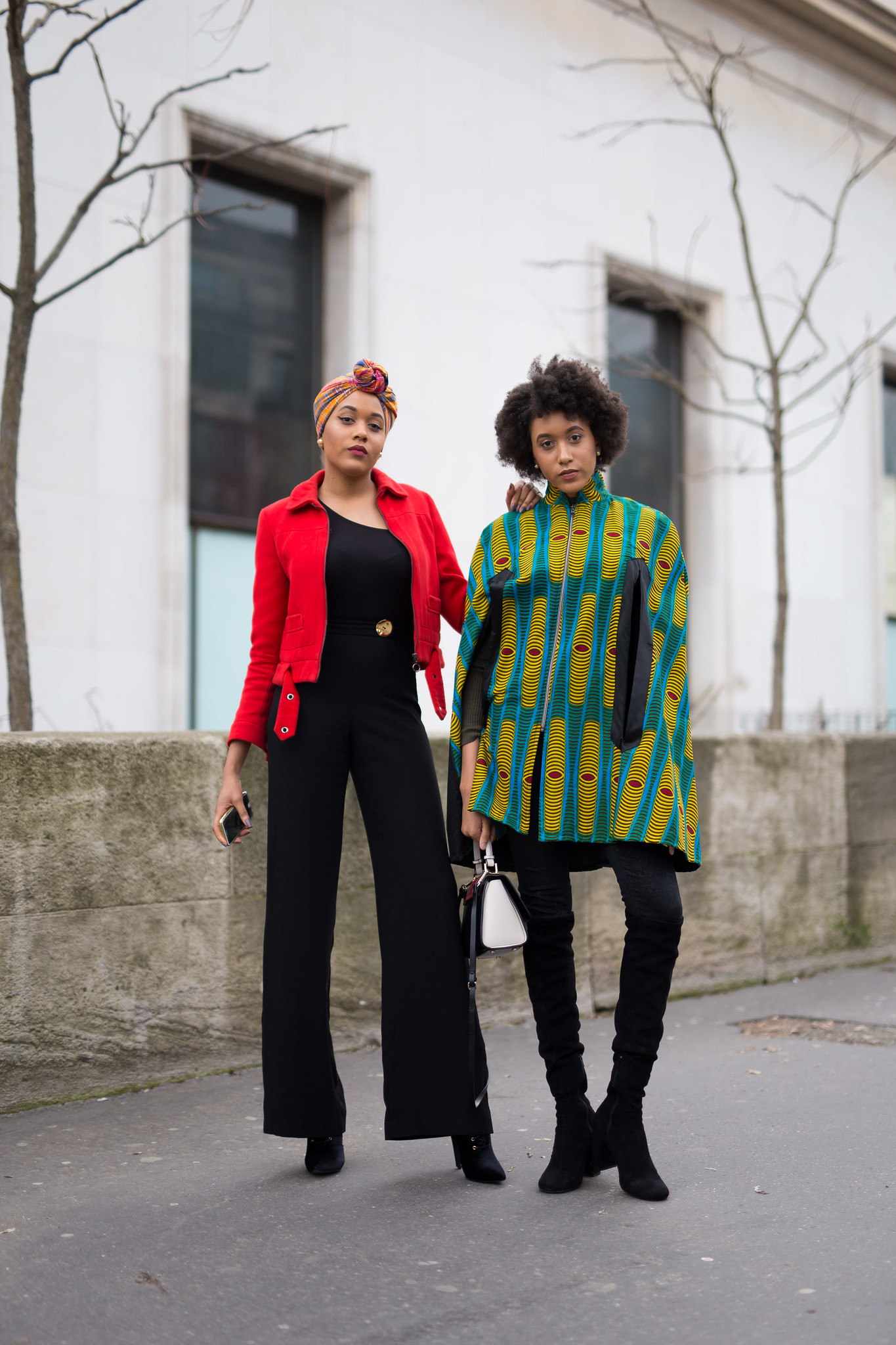 Street Style - Sybille & Carolane Bonvel, Paris Fashion Week
