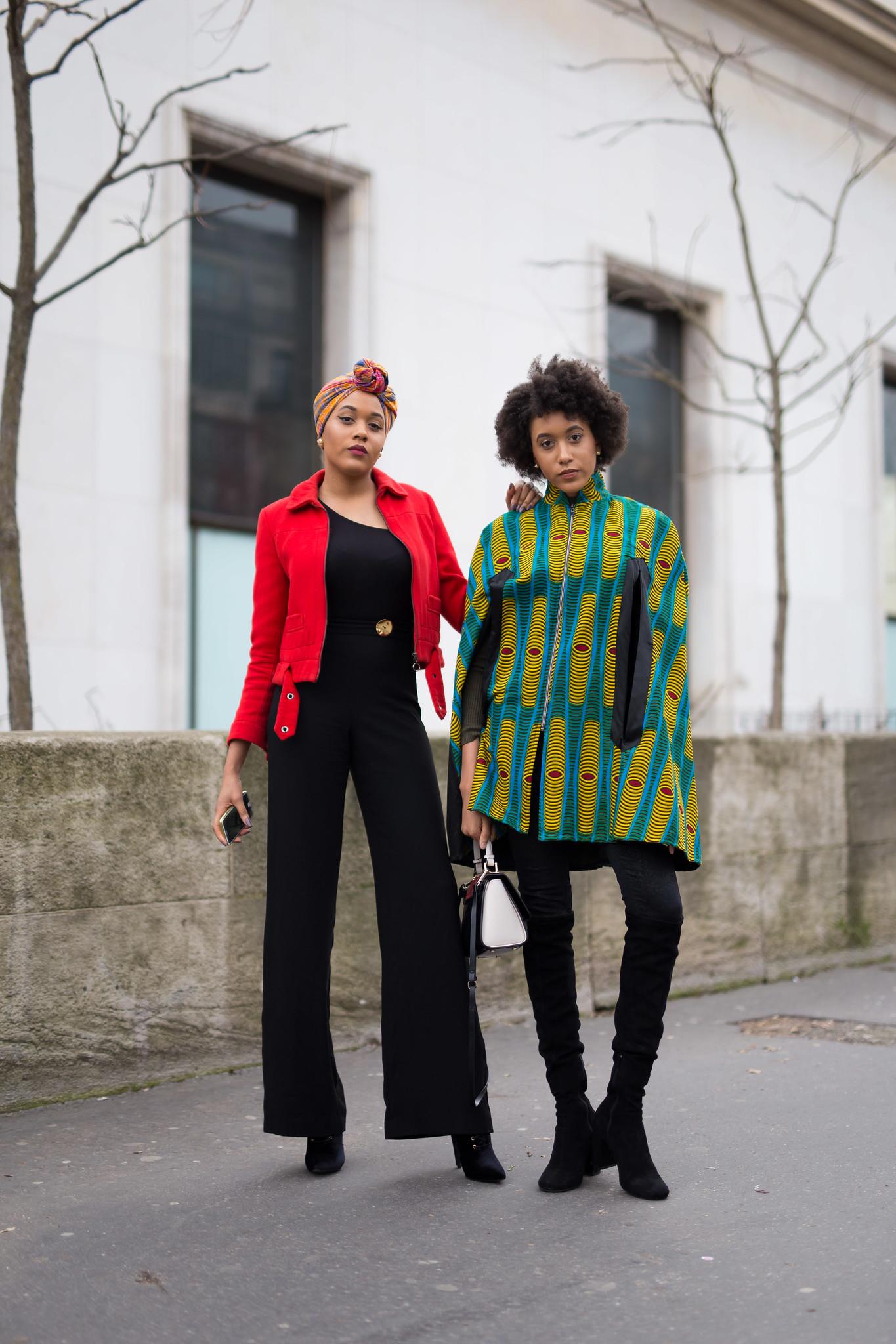 Street Style - Sybille & Carolane Bonvel, Paris Fashion Week