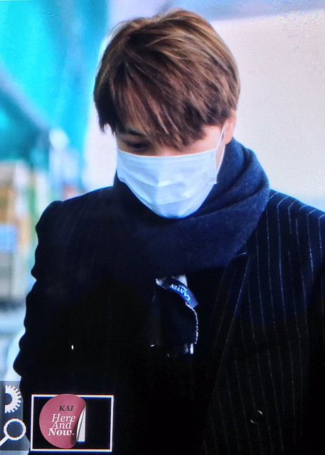 170414 Kai at Gimpo Airport