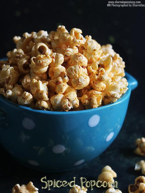 Spiced popcorn recipe