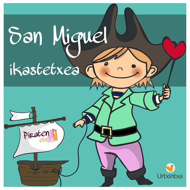 Egonaldi Pirata- San Miguel eskola 2017/06/12-14