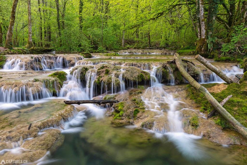 Cascades de tufs 5 - Jura France