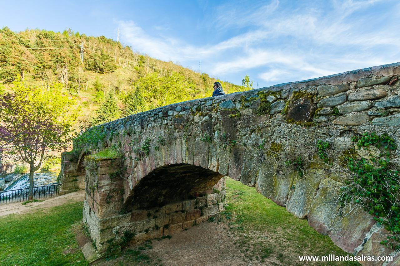 Puente de Landía, Ezcaray