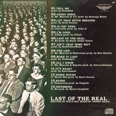 Willa Boy - Last Of The Real (Back)