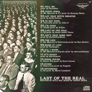 Willa Boy - Last Of The Real (Back) | by fortyfps