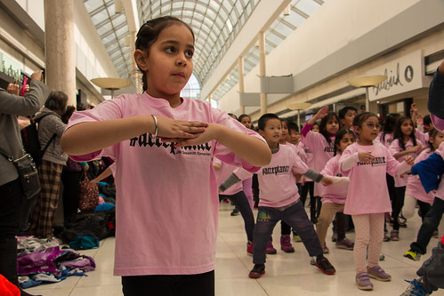 Sexsmith students' anti-bullying flashmob