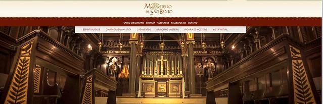 Visite o Mosteiro de São Bento e conheça a tradição beneditina