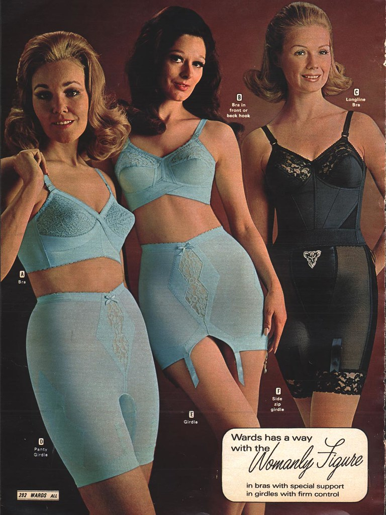 Retro girdle pics