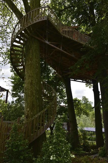 Escalier en colima on autour de l 39 arbre flickr photo sharing - Escalier en colimacon ...