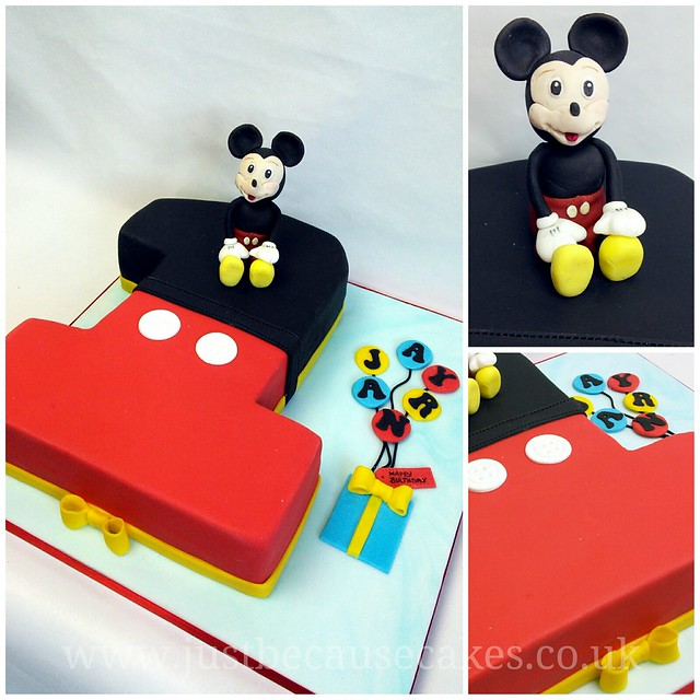 Mickey Mouse 1st Birthday Cake: Mickey Mouse First Birthday Cake