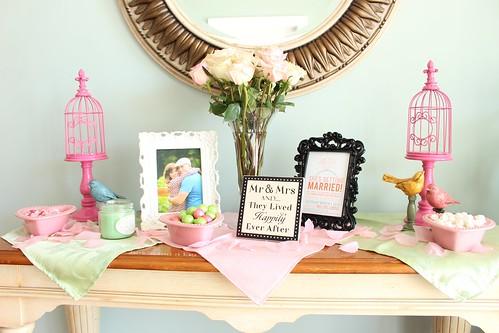 Bridal Shower dessert table